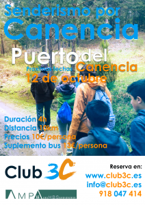 Para inscribiros:  http://club3c.es/adventures/inscripcion-ruta-puerto-de-canencia/